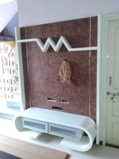 new lcd panel design photos. Living Room Partition Design, Living Room Tv Unit Designs, Room Partition Designs, Tv Unit Decor, Tv Wall Decor, Simple Tv Unit Design, Lcd Wall Design, Tv Unit Furniture Design, Modern Tv Wall Units