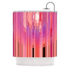 East Urban Home Mohave Sun by Nina May Geometric Shower Curtain