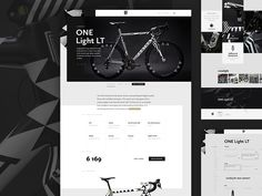 Website concept for Festka – manufacturer of high-end bikes. Festka produce top quality hand crafted frames from carbon, titanium and steel. I was working on some early concepts, but in the end cl. Bike Design, Web Design, Graphic Design, Design Blogs, Frame Crafts, One Light, Concept, Cl, Mockup
