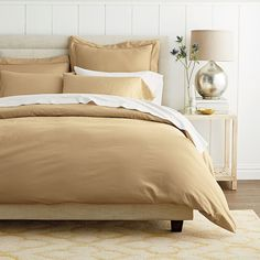 Classic Solid Sateen Duvet  Cover | The Company Store. 12 COLOR OPTIONS
