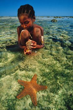 The Pristine Ocean of Madagascar ~ Some of The Best Diving in The World!  (Photo By: © Frans Lanting.)