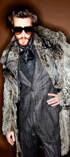 Tom Ford Fall/Winter 2012 Men's Collection- God I love FUR