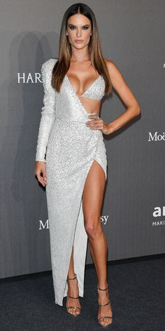 Look of the Day - Alessandra Ambrosio from InStyle.com