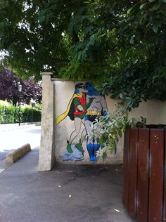 Batman and Robin kissing - By memeIRL in France