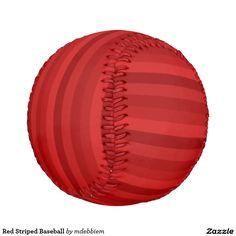 Red Striped Baseball