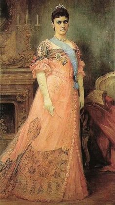 Draga Obrenovic, also known as Queen Draga, was the Queen and wife of King Aleksander Obrenovic of the Kingdom of Serbia. She was formerly a lady-in-waiting to Aleksander's mother Queen Natalija