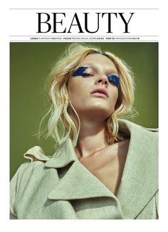 Leila Goldkuhl Glam Rock 3D beauty for Modern Weekly China Magazine March 2016