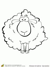 1000 images about coloriages mouton on pinterest sheep - Dessin tete de mouton ...