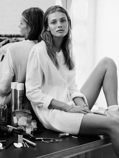 Edita Vilkeviciute photographed by Ben Weller for Twin Magazine #6