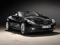 Mercedes SLK 200--Main character's rental car