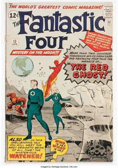 Fantastic Four #13 (Marvel, 1963) Condition: GD+.... Silver Age | Lot #14331 | Heritage Auctions