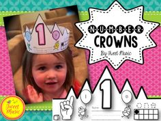 Elaine W. said: My kiddos BEG for these EVERYDAY :) since I got them towards the end of the year, we are just adding them to our one more, one less than a number.. :) they are really getting it :) These crowns are kid tested and kid approved! $