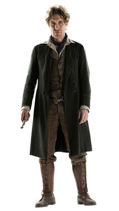 Paul McGann's Eighth Doctor will definitely not be appearing.   But he looks GOOD, right?