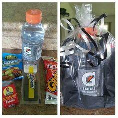 After game treat bag :-D