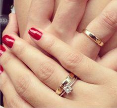 Diferenças do anel de noivado e aliança | Casar é um barato