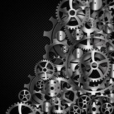 gear in a metal frame template web site