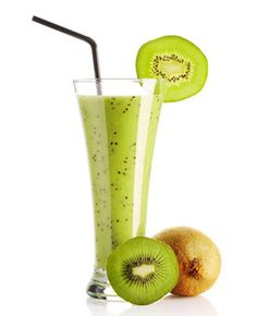 Kiwi Smoothie, Smoothie Drinks, Detox Drinks, Healthy Drinks, Healthy Recipes, Cocktail Drinks, Alcoholic Drinks, Vegan Ice Cream, Plant Based Diet