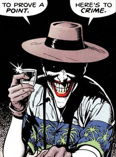 The Joker. #killingjoke