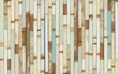 Piet Hein Eek - Scrapwood Wallpaper-I need this for my living room