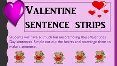 This lesson is aligned to common core standard:    L.2.1 and L.2.3This fun lesson can be used with a 2nd or 3rd grade class. It can be used as part of Reading Centers, Morning/Bell Work,  or small groups.The sentences are all about Valentines Day!!!   Such a fun way to work, learn, and celebrate.