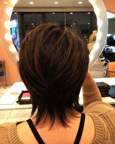 ideas haircut for long hair thin ideas - - ideas haircut for long hair thin ideas hair Ideen Haarschnitt für langes Haar dünne Ideen Short Shag Hairstyles, Short Layered Haircuts, Haircuts For Fine Hair, 60s Hairstyles, Hairstyle Short, Layered Hairstyles, Medium Hair Cuts, Short Hair Cuts, Medium Hair Styles