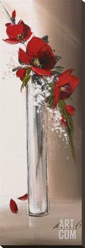 Art.fr - Tableau sur toile 'Hauteurs Florales I' par Olivier Tramoni