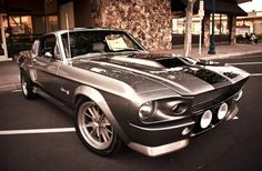 It's been 15 years since 'Gone in 60 Seconds,' but the appeal of the 1967 Eleanor Mustang featured in the flick certainly hasn't lost its appeal. 1967 Mustang, Mustang Cars, Shelby Mustang, Ford Shelby, Mustang Fastback, Classic Chevy Trucks, Classic Cars, Supercars, Shelby Gt 500
