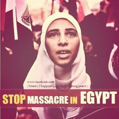Stop Massacre in #EGYPT