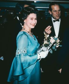 telegraph:  The Queen with the Duke of Edinburgh in 1974. Photo: Getty