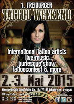 1. Freiburger Tattoo Weekend | Tattoo Filter