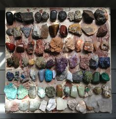 Crystals and stones, since I was little! they are with me