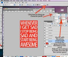 how to make subway art in photoshop from Saved by Love Creations