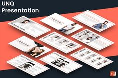 Square - Powerpoint Template by inspirasign on @creativemarket