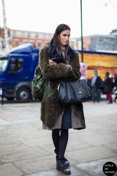 Mijo Mihaljcic Street Style Street Fashion Streetsnaps by STYLEDUMONDE Street Style Fashion Blog