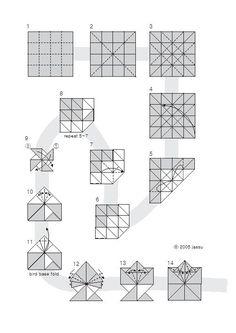 origami leaf 1