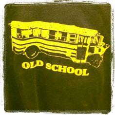 """Old School"" #TShirt"