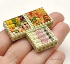 2017. Miniature Japanese Food♡ ♡ By Petite Fleur
