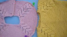 tutorial puntomoderno.com #vestido de bebé a dos agujas #diy