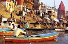 Sacred river of ganges, India