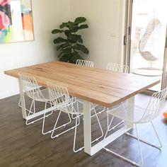 Image of Hardwood table (Vic ash)