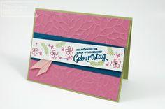 Stampin' Up, Bordüren und mehr, Mixed Borders, Geburtstagskarte