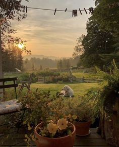 garden care view Lazy hazy summer evening on the farm Brande, Beautiful Homes, Beautiful Places, Beautiful Beautiful, House Beautiful, The Farm, Nature Aesthetic, Cottage In The Woods, Farm Life