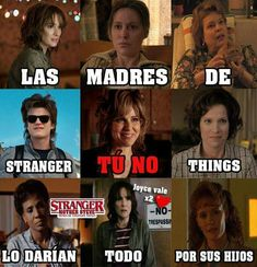 Translation: Stranger things mother's(you don't)would give anything for their children Stranger Things Funny, Stranger Things Netflix, Stranger Things Steve, Saints Memes, Sadie Sink, Best Series, Pretty Little Liars, Fangirl, Best Friends