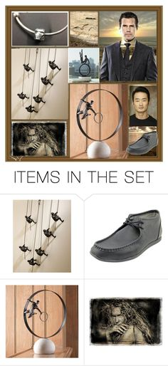 """the global man"" by georgine-d ❤ liked on Polyvore featuring art"
