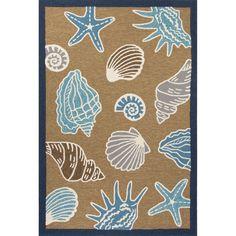Beachcrest Home™ Esker Yellow/Blue Indoor/Outdoor Area Rug