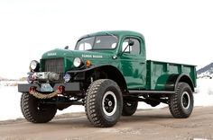 Legacy Power Wagon   2-Door - Got an extra $120,000 lying around??? This thing looks awesome.