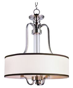 Trans Globe 7974 BN Pendant - Brushed Nickel - 20WX 25.5H. - Pendant Lights at Hayneedle $226.50 3-60watt