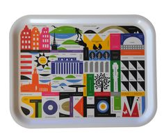 Stockholm tray // I have this! :) It makes me happy.