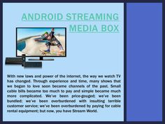 """Android Streaming Tv Box"" published by @androidstreamtv on @edocr"