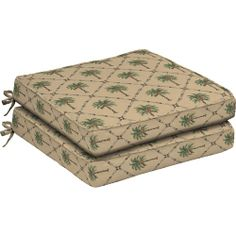 Palm Kitchen Decor | Better Homes And Gardens Dining Seat Outdoor Cushion  Set Of